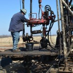 Hinson #1 Well - Workover Rig Worker