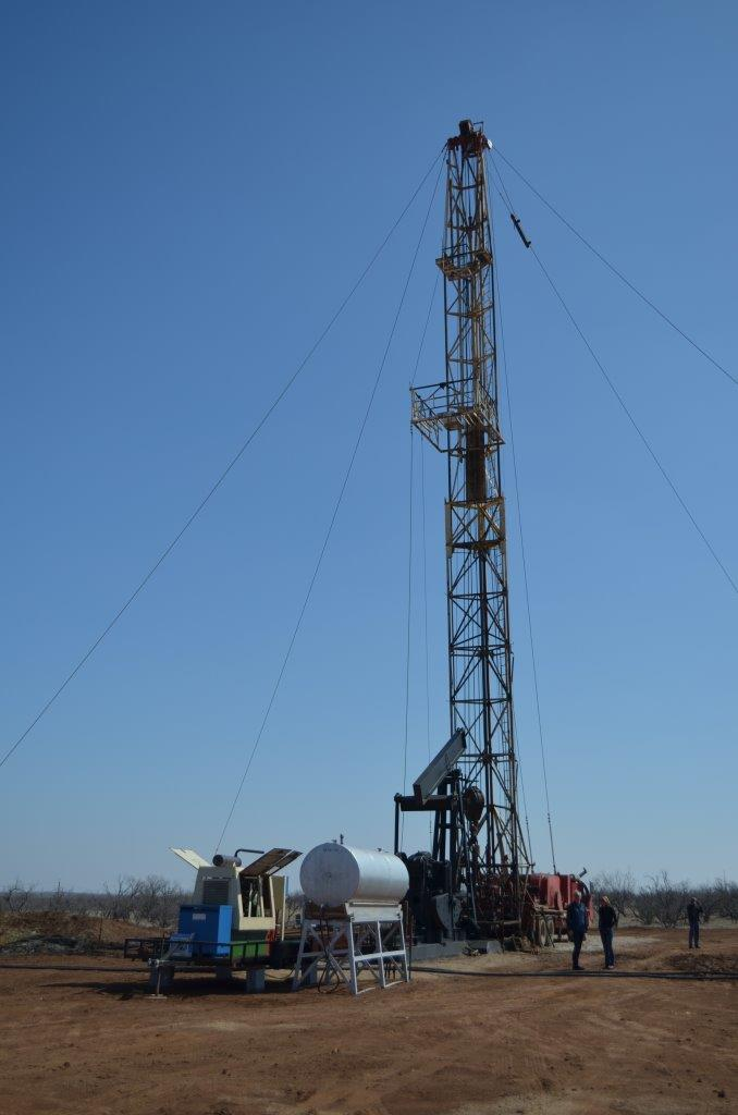 Hinson #1 Well - Workover Rig