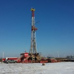 Hinson # 1 Well - Drill Rig February 2014